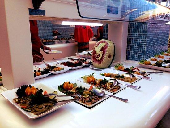 Hotel Marbella : Dinner