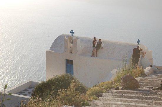 Levante Beach Hotel: чья-то свадебная церемония
