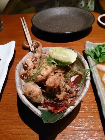 Novikov Restaurant & Bar: Soft shell crab