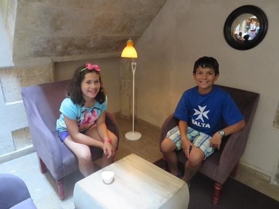 Hotel Neri Relais & Chateaux: Foyer