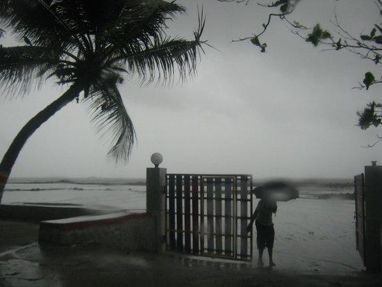 Picxy Sea Resort: gate