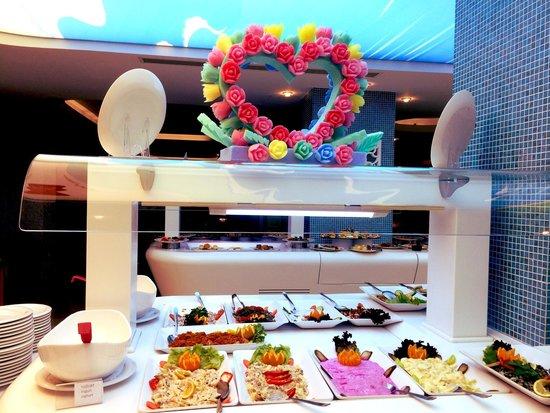 Hotel Marbella : Starter table