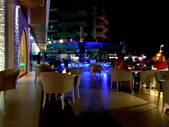 Hotel Marbella : Pool bar