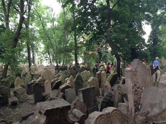 Old Jewish Cemetery: it is impressive in size