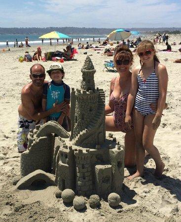San Diego Sand Castles: Wow!!!