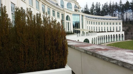 Powerscourt Hotel, Autograph Collection: View from the room balcony