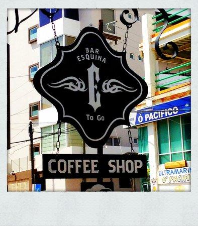 Bahia Hotel & Beach House: Bar Esquina - Bahia Restaurant | Love the logo/graphics