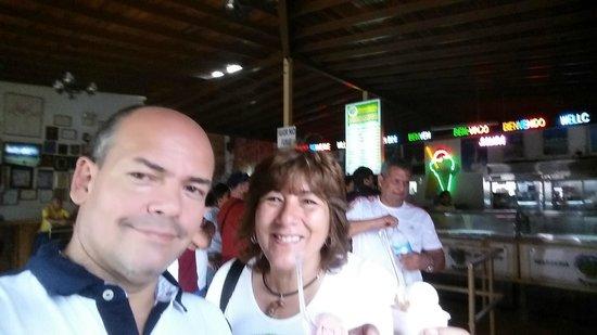 Heladeria Coromoto : Me and Karem