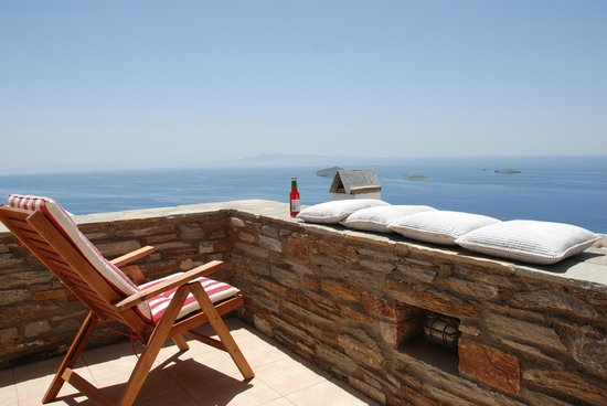Andros Prive Suites : aegean view