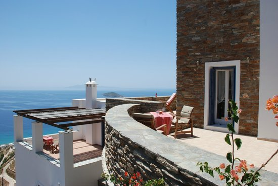 Andros Prive Suites: aegean view