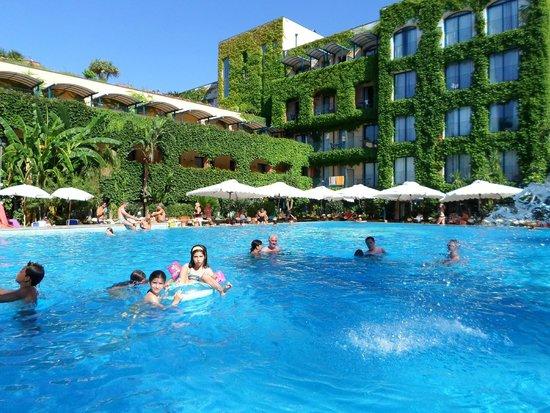 Caesar Palace Hotel Taormina: piscine hotel