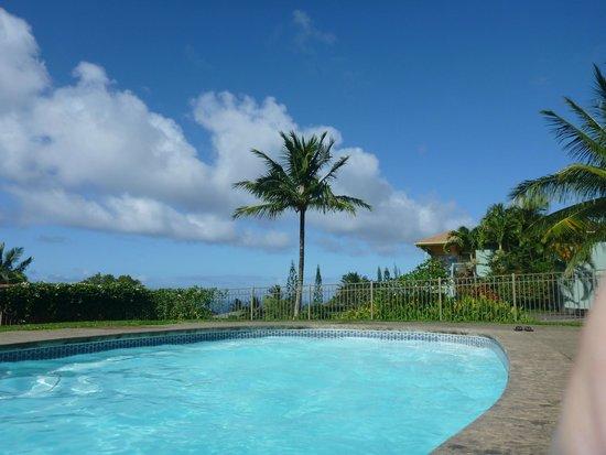 Maui Ocean Breezes: View from pool towards ocean