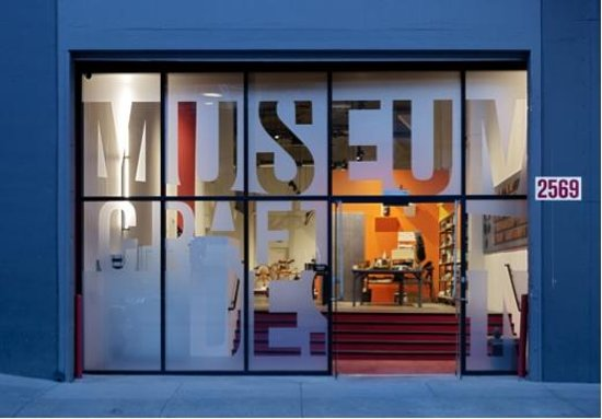 Museum of Craft and Design in San Francisco's Dogpatch area