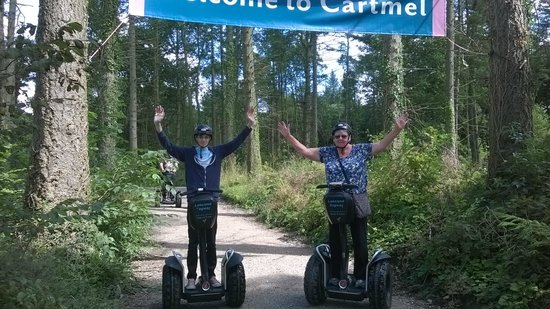 Lakeland Segway: Segway tour with my grandson