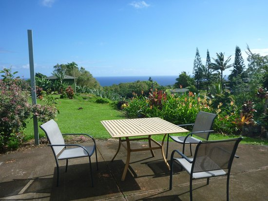 Patio view from Maui Ocean Breezes