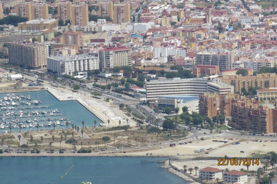Ohtels Campo de Gibraltar: view in hotel direction