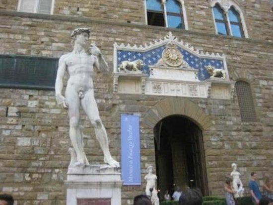 Museo di Palazzo Vecchio : Скульптура Давида