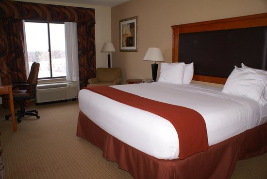 Holiday Inn Express Hotel & Suites Latham : Nice room