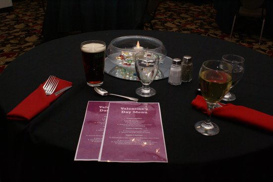 Holiday Inn Express Hotel & Suites Latham : Valentine's Day dinner