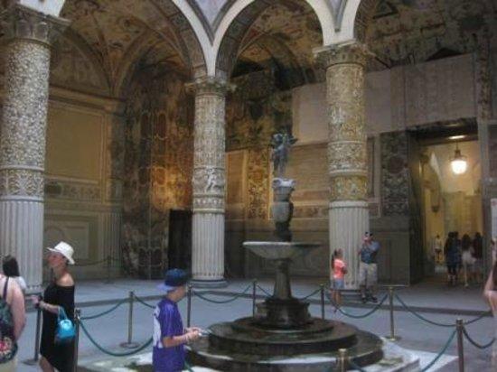 Museo di Palazzo Vecchio : Вход в музей