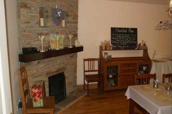 Sika Lodge B & B : la salle du petit dejeuner