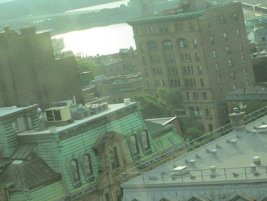 Le Westin Montreal: Vista desde la habitación en piso 19