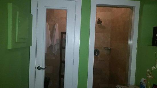 Chesterfield Hotel: Shower