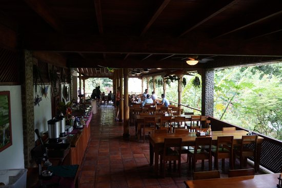 Ian Anderson's Caves Branch Jungle Lodge : Dining area