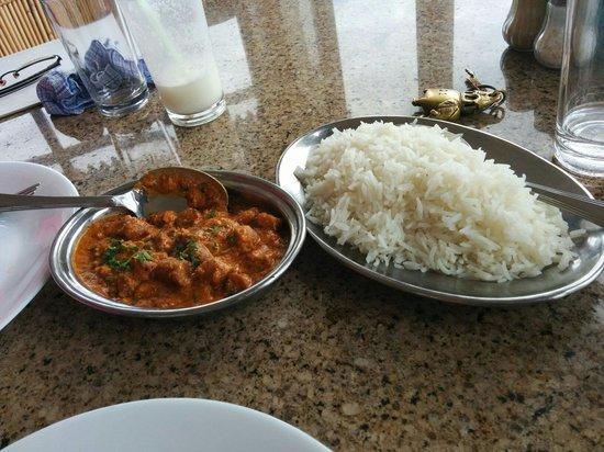 Jaiwana Haveli: Rice with gatte ki sabzi - a Rajasthani delicacy