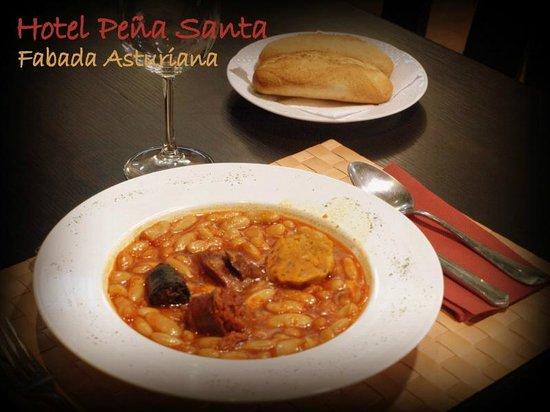 Hotel - Apartamentos Peña Santa: Fabada Asturiana de nuestro Restaurante