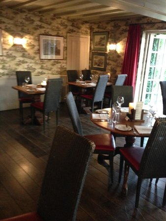 The Pheasant Inn: One of the dining areas.