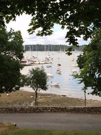 Bistrot du Bac : view of the odet river