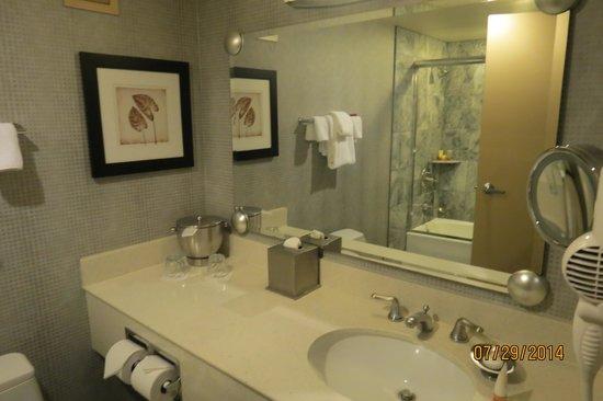 New York - New York Hotel and Casino : salle de bain