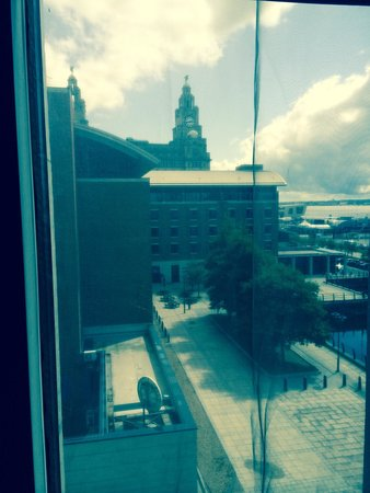 Malmaison Liverpool: View from our room