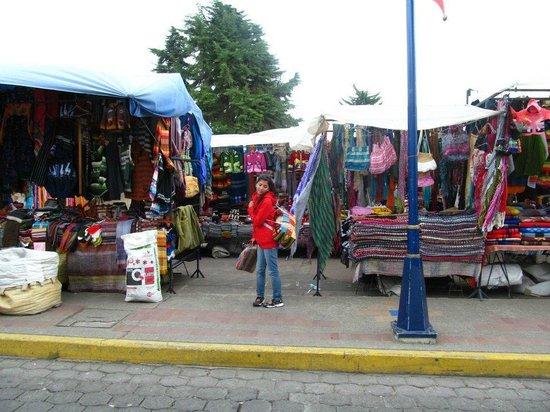 Otavalo Market: Vista del Mercado