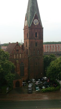 Atlantic Grand Hotel Bremen: View from room
