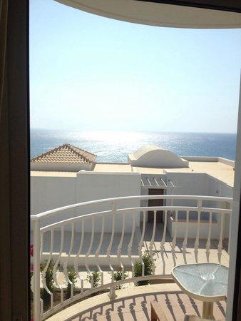 Atrium Prestige Thalasso Spa Resort and Villas : Vista dalla camera