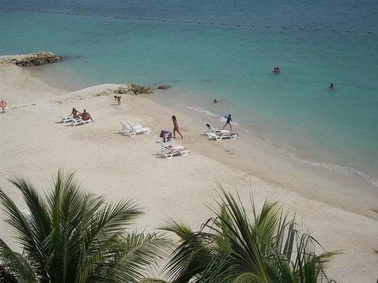 Royal Decameron Barú: La Playa desde los balcones terraza