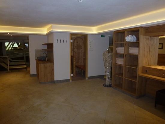 Hotel Jäger: espace sauna et piscine
