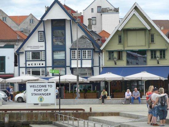 Old Stavanger: Welcome to Stavanger.