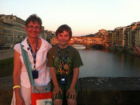 City Wonders: Sunset with the Ponte Vecchio