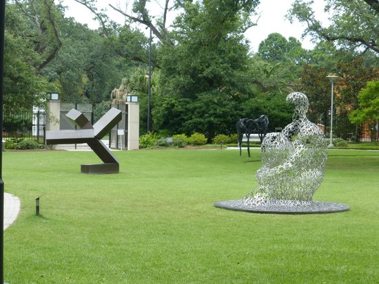 Art picture of the sydney and walda besthoff sculpture - Sydney and walda besthoff sculpture garden ...