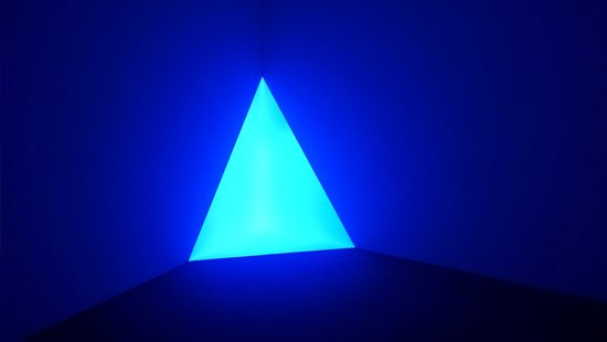 Spencer Museum of Art: Gard Blue by James Turrell