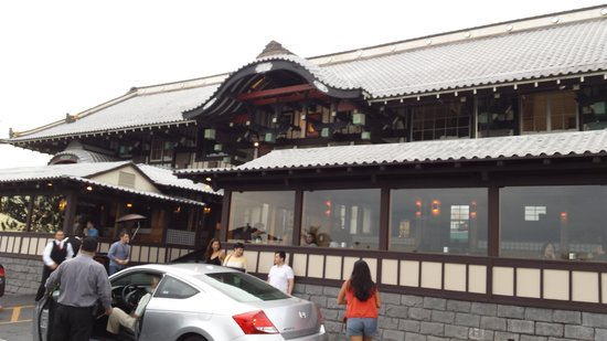 Yamashiro: The front of the restaurant