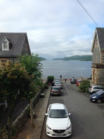 Oban Youth Hostel: A room with a view!