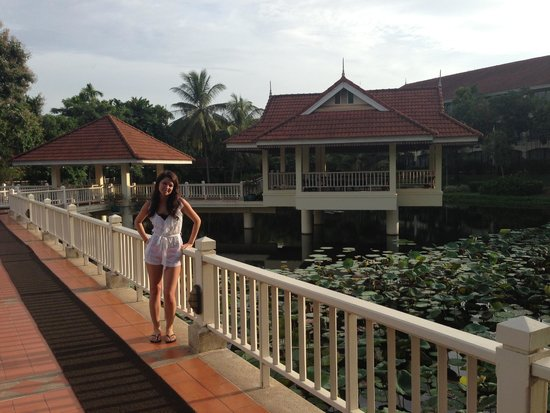 Sofitel Angkor Phokeethra Golf and Spa Resort: Sofitel grounds