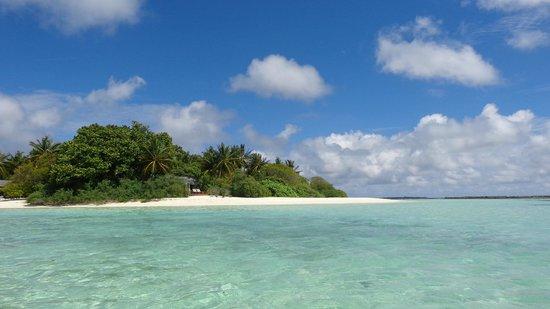Royal Island Resort & Spa : extrémité de l'île