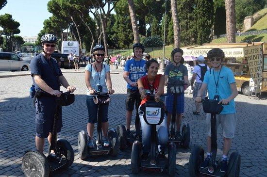 Italy Segway Tours: Coliseum, Rome - Segway 2014
