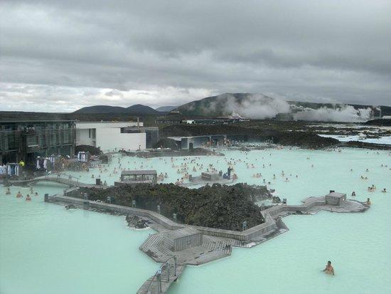 Blue Lagoon: Lo spettacolo visto da una delle terrazze panoramiche!
