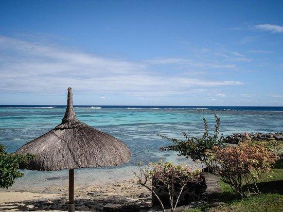Canonnier Beachcomber Golf Resort & Spa : Vue de la plage